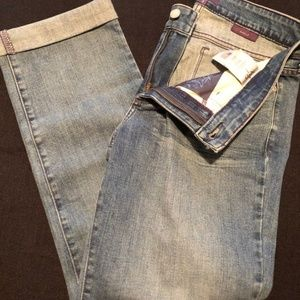 NWT NYDJ Ankle jeans size 8 Faded